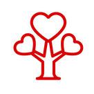 moe Icon Liebe erblüht im Herzen