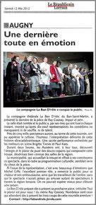 IMPAIR ET PERE - représentation à AUGNY (57685) - LA BAN D'RÔLE