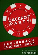 Jackpot Party KLJB Lauterbach Landjugend Festzelt 2018