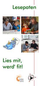 Flyer Lesepaten - Freiwilligen-Zentrum Augsburg