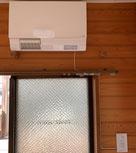 脱衣所 洗面所 暖房機 設置工事