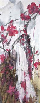 今天的幸福 MOMENT OF HAPPINESS 200X80CM 布面油画  OIL ON CANVAS 2012