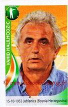 N° 372 - Vahid HALILHODZIC (1986-87, PSG > 2003-Fév 05, Entraîneur PSG > 2010, Entraîneur Côte d'Ivoire)