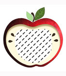 Apfel Kissen, Apfelkissen, Apfelgeschenk, Herbst Apfel, Namenskissen, Kinderkissen, Babykissen, Fotokissen, Tierkissen, Kuschelkissen