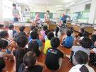 南が丘小学校4年生122名が車椅子操作を体験
