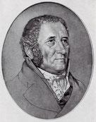 Johan Peter Hebel, Kreidezeichnung von F.Iwanow in Uni Basel, Wiki. commons