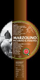 maremma sheep sheep's cheese dairy pecorino caseificio tuscany tuscan spadi follonica label italian origin milk italy fresh  il panetto del pastore marzolino