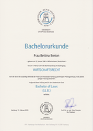 Bachelor of Laws