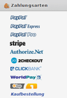 Zahlungsarten (JotForm-Order)