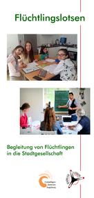 Flyer Flüchtlingslotsen - Freiwilligen-Zentrum Augsburg