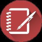 Carnet avec un stylo