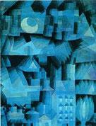 P. Klee, Notte in città