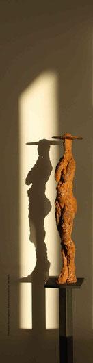 Dame mit Hut. (Foto: Ute Huch)