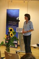 Dr. Winter hielt einen Kurzvortrag über die wesentlichen Fakten zum Klimwandel