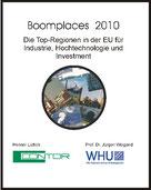 Das Buch und die Studie Boomplaces 2010 wurde von Henner Lüttich zusammen mit Prof. Dr. Jürgen Weigand von der WHU veröffentlicht.