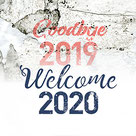 Goodbye 2019 Welcome 2020 Font Design