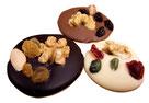 Mendiants - Caraques - Corné Dynastie - chocolat