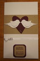 Hochzeitskarte mit Stampin´Up! - angestempelt1