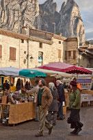 marché d'automne à Saou