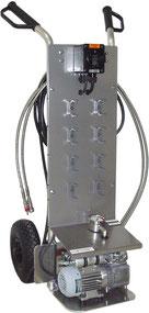 Mobile (portable) gas sampler with vacuum pump Mechatest Sampling Solutions