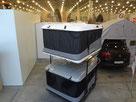 Багажники - палатки James Baroud на выставке.