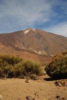 Der Teide mit 3718 m, der höchste Punkt von Spanien