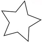 étoiles en cuir