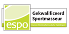 MdR Sportmassage kwaliteitsregister ESPO