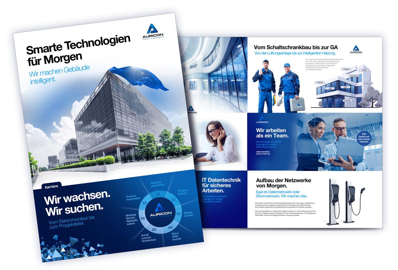 Flyer Gestaltung in Berlin