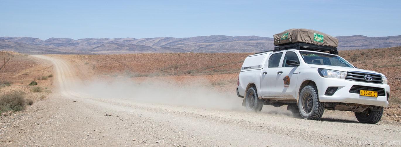 Namibia Dachzelt 4x4 Namvic Roadtrip Safari