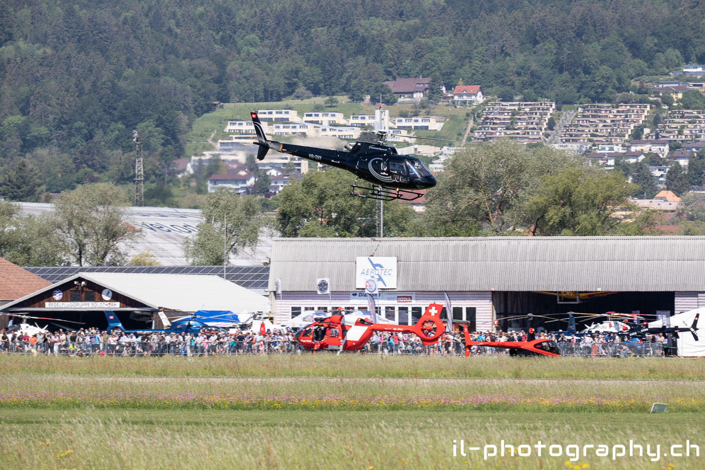 Heliweekend in Grenchen.