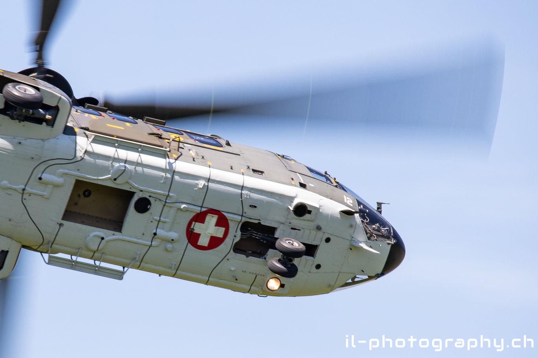 Unter anderem beim Display des Super Pumas der Schweizer Luftwaffe.