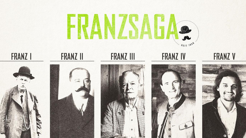FRANZ. Die Saga - eine Familiengeschichte über Traditionen.