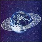 Anillo zodiacal alrededor de la Tierra