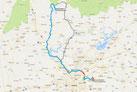 Strecke: 10. Tag (Google Maps)
