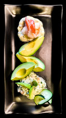 Avocado, Cucumber and Shrimp