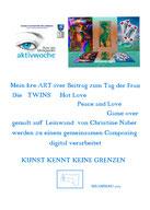 Frau im Blickpunkt - aktivwoche - Straßengalerie 7.03.-15.03.2015 Bisamberg