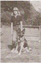 Angela Wamsler mit Lesko vom Murrtal