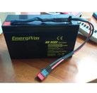 2 baterías EnergiVm MV6120 6V-12Ah AGM-STANDARD con conector T-DEAN