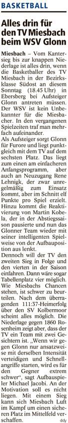 Artikel im Miesbacher Merkur am 3.12.2016 - Zum Vergrößern klicken