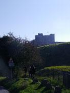 Schloss in Sicht!