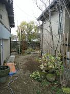 増築に伴う庭解体・整理(移植・伐採)@奈良県北葛城郡広陵町
