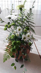 Séance de création florale avec Claude-Eve Spach