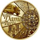 NOTRE-DAME DE PARIS 5000 EURO OR
