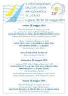 Concerts à Lugano