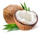 Unraffinierte Kokosöl - Rohstoff für die natürliche & vegane Lippenpflege von lipfein