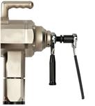 Ratchet handles portable pipe beveling machine