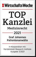 TOP-Anwalt 2020: Fachanwalt Versicherungsrecht Michael Graf.
