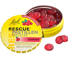 Rescue Pastillen Cranberry 50 g Original Bach Blütenmischung Rescue Notfallmittel