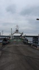 Autofähre von Dalarö nach Ornö
